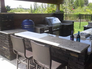Custom Outdoor Kitchen for as low as $135 via our financing options
