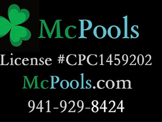 McPools is a Licensed Pool Contractor