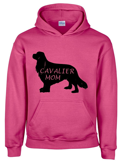 Cavalier Mom Hooded Sweatshirt