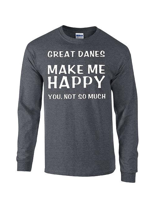 Great Danes Make Me Happy