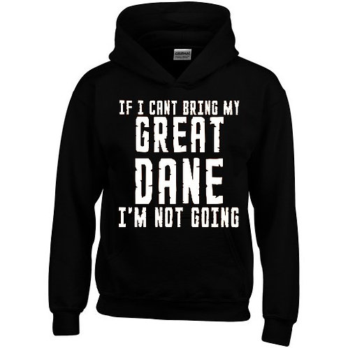 Not Going Hooded Sweatshirt