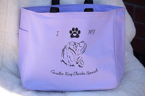 I Love My CKCS Hand Bag
