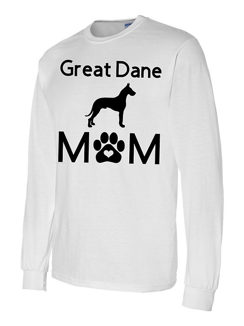 Great Dane Mom Long Sleeve