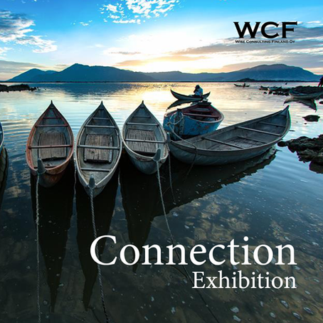 """""""Connection"""" exhibition in Finland - When Art Connects Humans"""