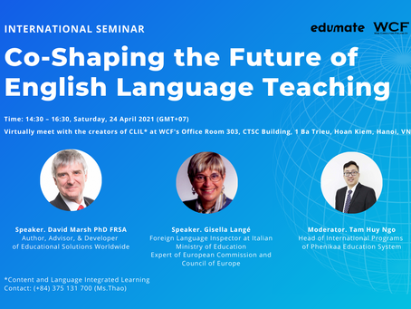 "International Seminar: ""Co-Shaping the Future of English Language Teaching"""