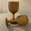 """Thumbnail: Olive Wood 15cm/6"""" Wine Cup"""