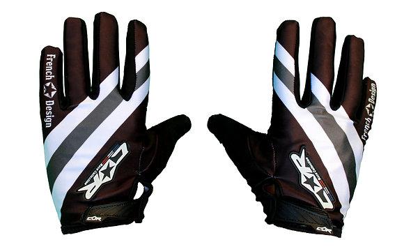 Gant RACE noir / blanc