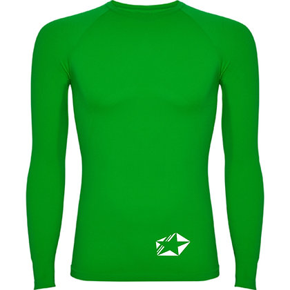 Maillot compression vert