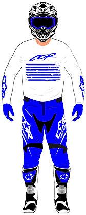 Pantalon TECH bleu