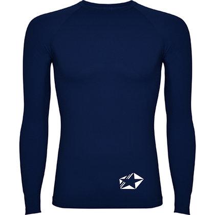 Maillot compression bleu marine