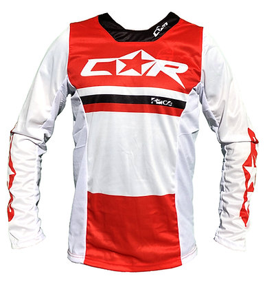 Maillot RACE rouge/blanc
