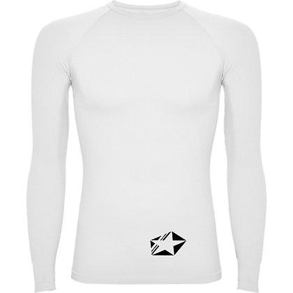 maillot compression blanc
