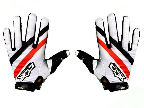 Gant RACE blanc/rouge