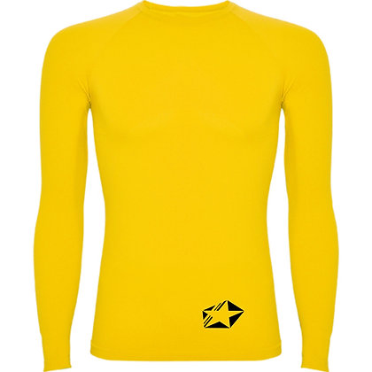 maillot compression jaune