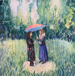 Под зонтом / Under the umbrella