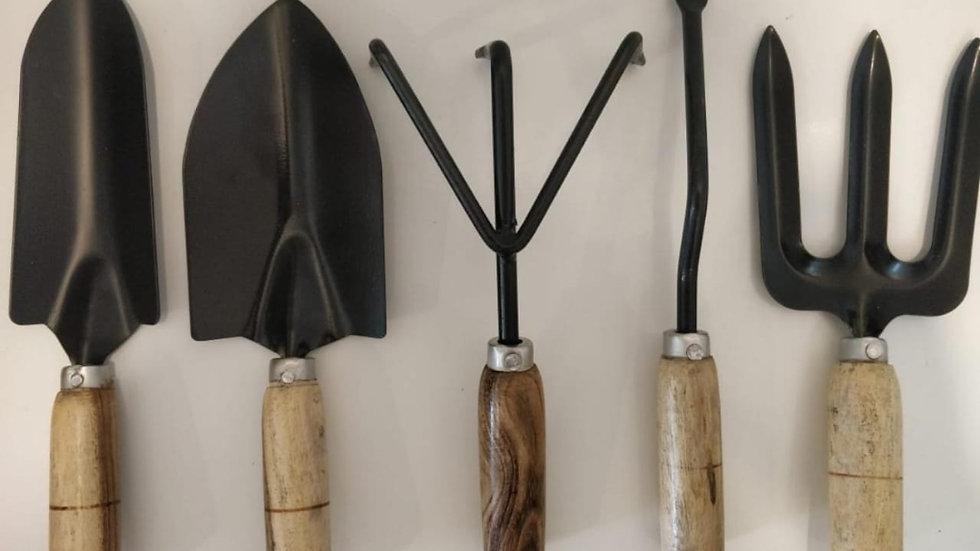 Garden tool set of 5