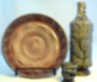 Plate, Bottle and Shot Glass.JPG