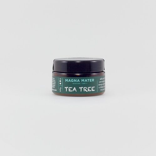 Máscara Facial Tea Tree com Argila Verde 60g