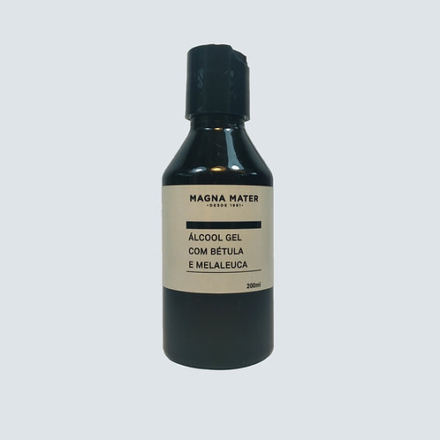 Álcool gel com Bétula e Melaleuca 200ml