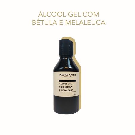 Álcool Gel com Bétula e Calêndula