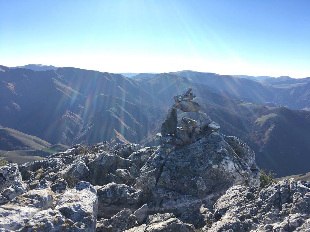 Depuis le sommet du Pic de Béhorléguy