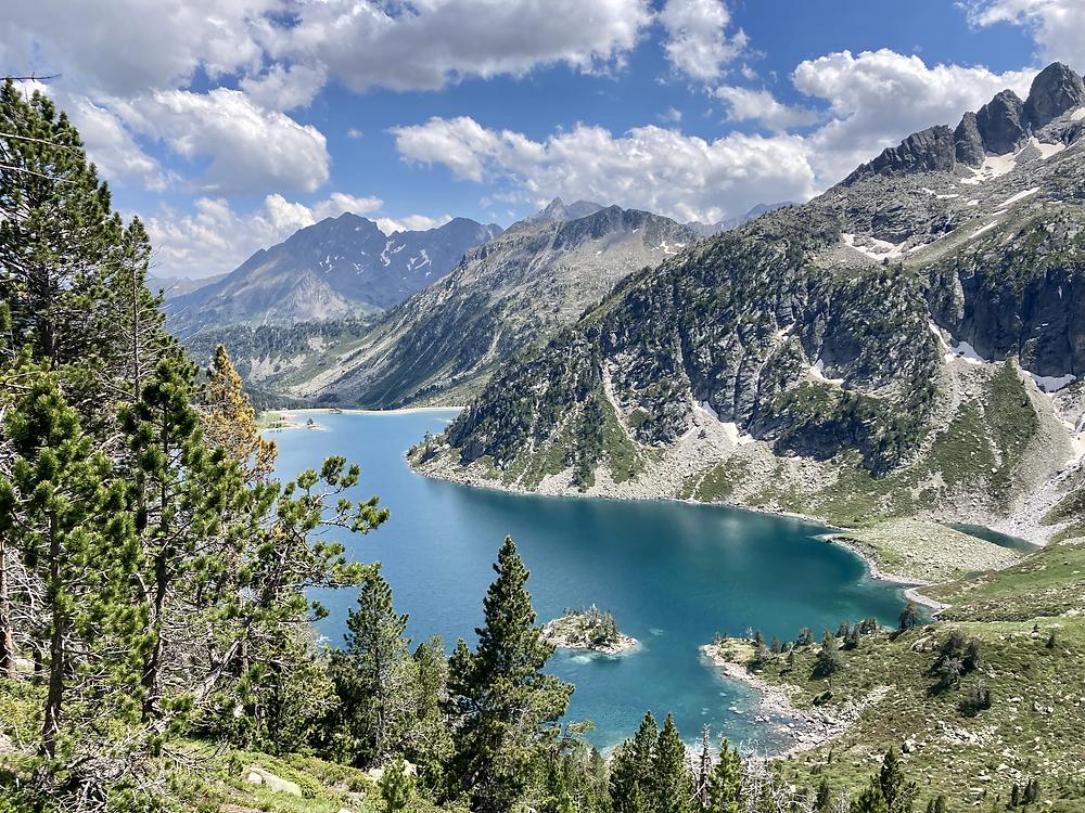 lac d'aubert, lacs du néouvielle, lacs des pyrénées, pyrénées