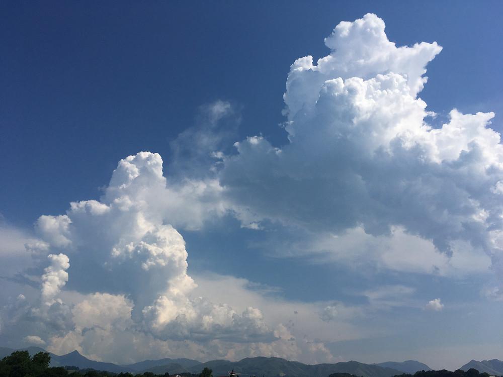 cumulonimbus, orage, conseil orage montagne