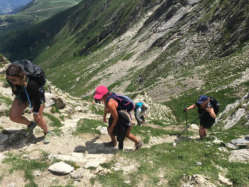 Pic d'Orhy, randonnée entre femme, randonnée Pays-Basque
