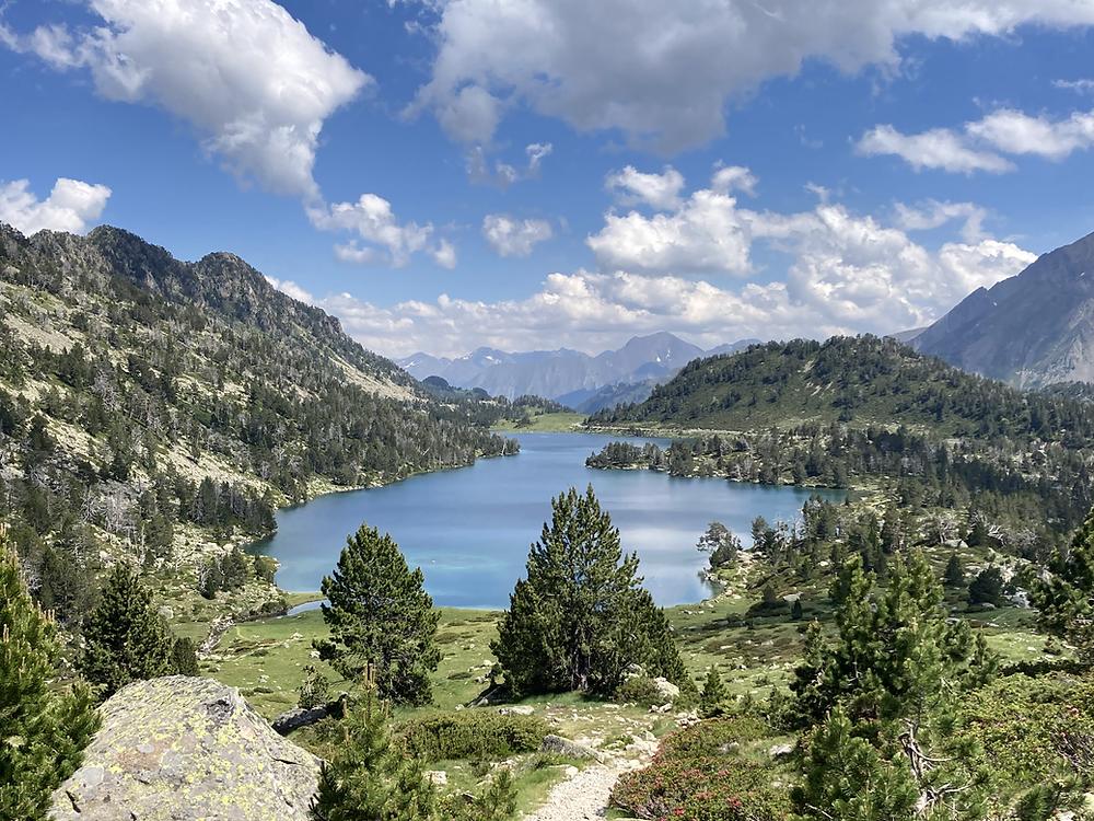 lac d'aumar, lacs du néouvielle, lac des pyrénées