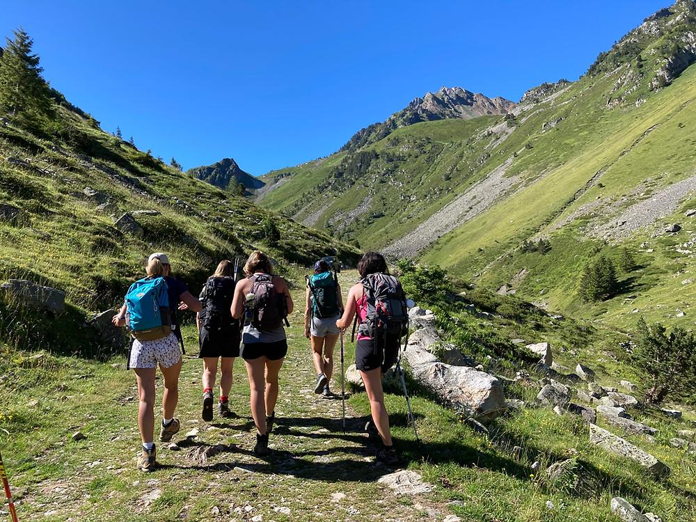 trekking Néouvielle, séjour les Lacs du Néouvielle, randonnée au féminin