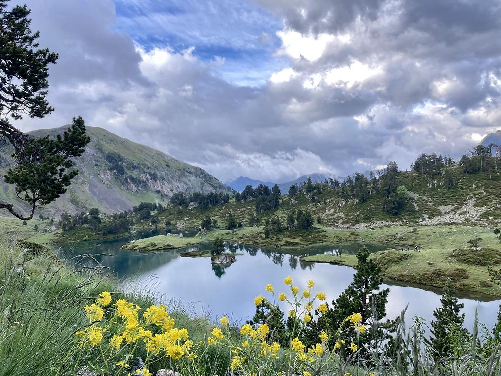 lac de bastan, lacs du néouvielle, lacs des pyrénées, pyrénées