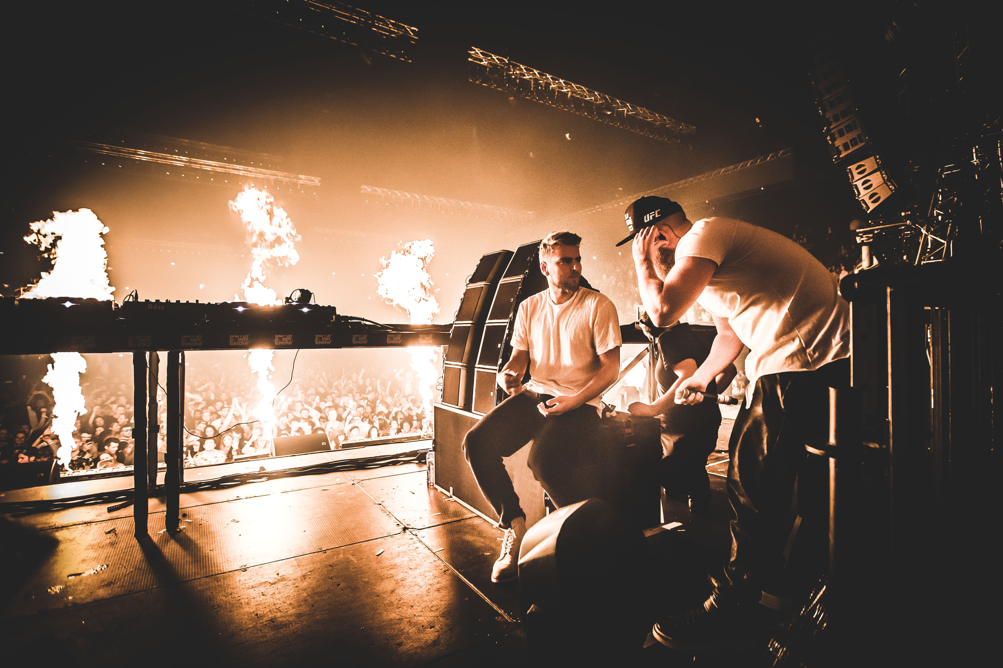 Showtek Tour Photography