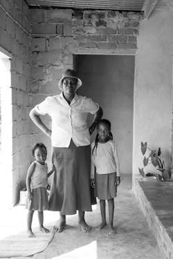 Reina's mother, Meggie and Reina