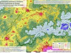 Lichtverschmutzung Schweiz