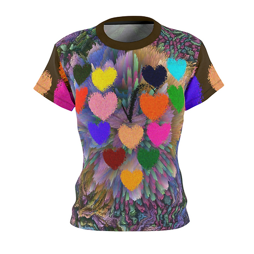 Hearts In Heart Women's Tee