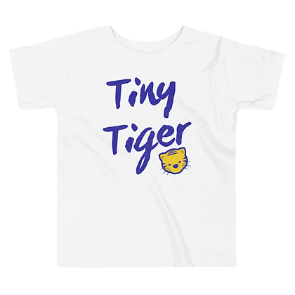 """Tiny Tiger"" Toddler Tee"