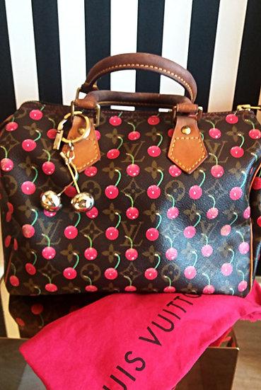 Bauletto Louis Vuitton Speedy 25 Cherry