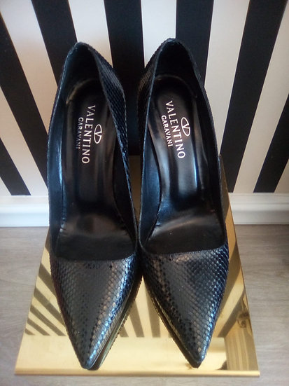 Valentino scarpe pitone