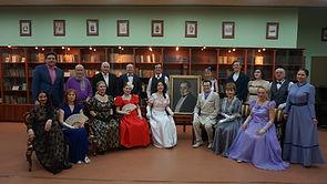 Участники первого Грибоедовского бала
