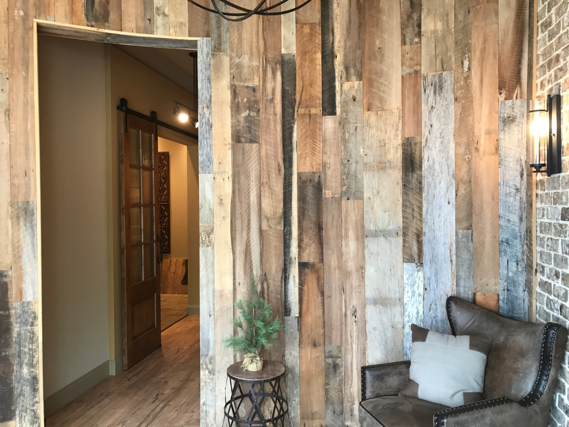 Reclaimed Mixed Species Paneling