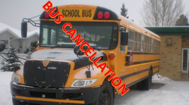 School bus is canceled November 12 & 13 and regular classes continue