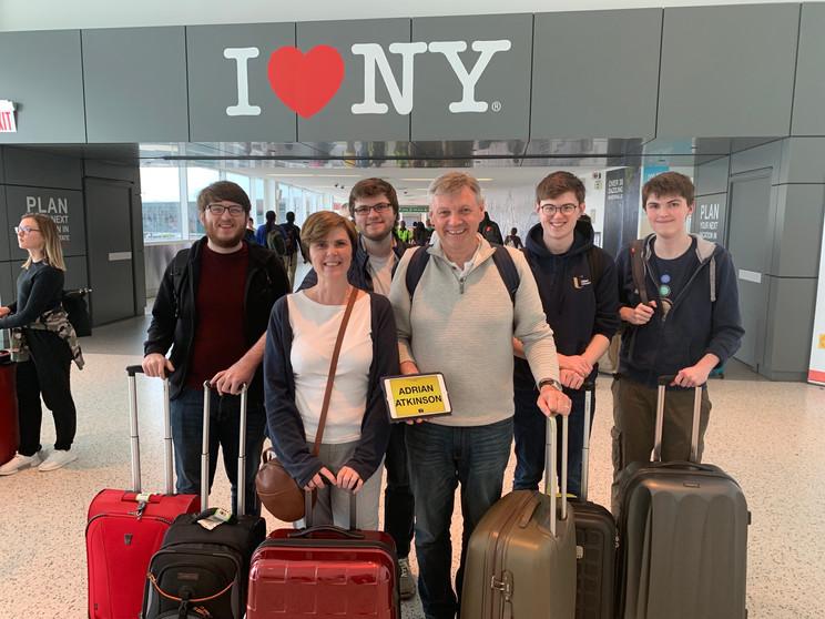 beautiful family from Dublin