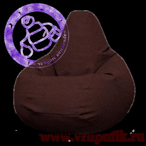 Кресло-груша Велюр Lankom plain Chocolate