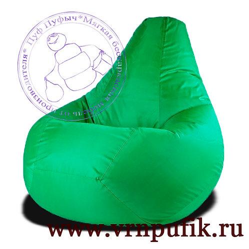 Кресло-груша Oxford зеленое