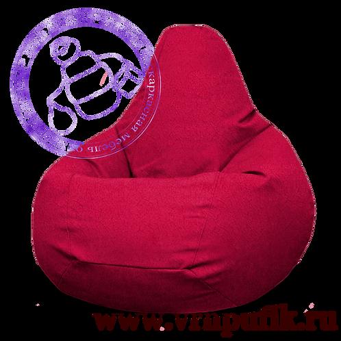 Кресло-груша Велюр Lankom plain Red