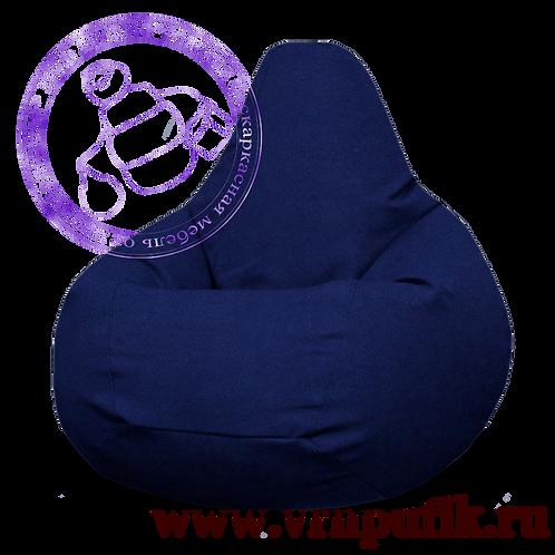 Кресло-груша Велюр Lankom plain Blue