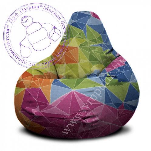 Кресло-груша Crystals