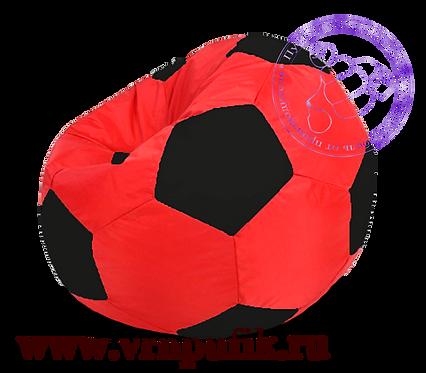 Кресло-мяч Oxford красный с черным