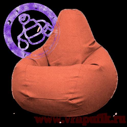 Кресло-груша Велюр Lankom plain Orange