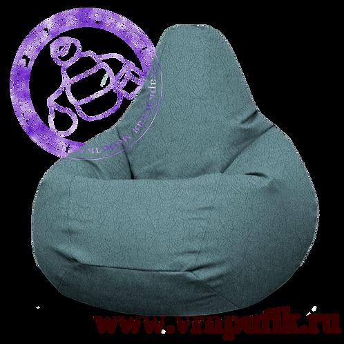 Кресло-груша Велюр Lankom plain Turguoise